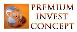 Premium Invest Concept